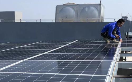 """邦照电气的""""阳光屋顶"""""""